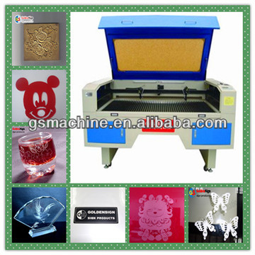 co2 laser cutting machine double heads 350w laser cutter for metal factory price