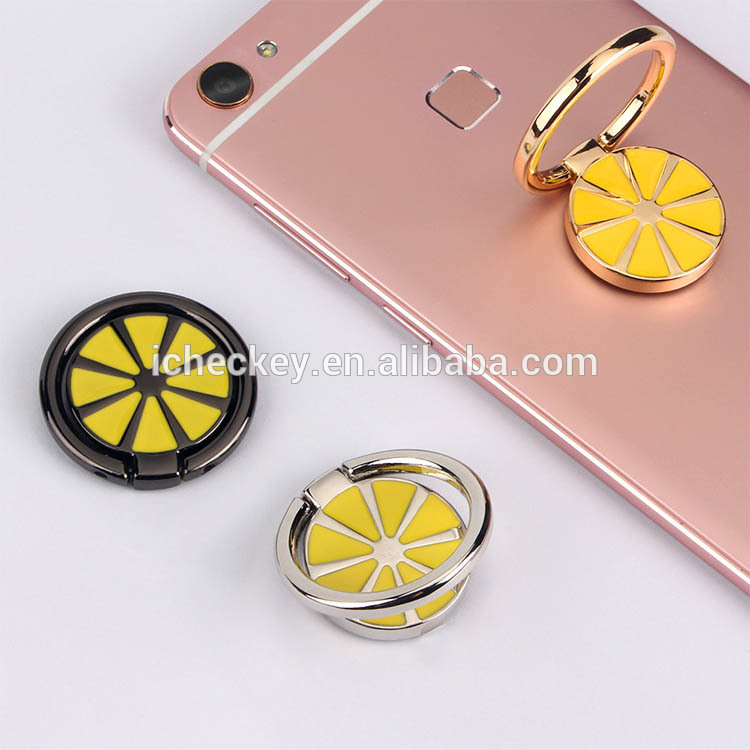 Icheckey New Design Magnetic Zinc Alloy Phone Holder and Grip Stand