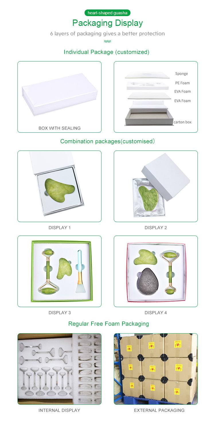 Usine d'origine 2019 Tendances Maison Spa Outil Dernier Rouleau de Jade Pour Le Visage