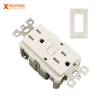 Factory price 15a TR gfci oem wall socket for bathroom