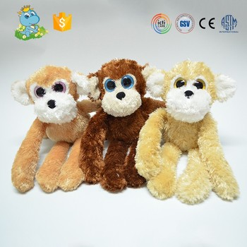 Hot Sale Small Size Cute Monkey Stuffed Toys With Long Arms For Sale