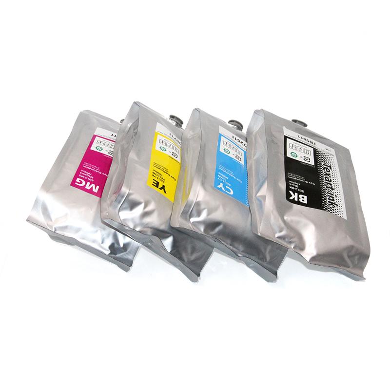Ocbestjet 1L रोलाण्ड के लिए उच्च बनाने की क्रिया स्याही बैग SBL3 RT640 XT640 प्रिंटर
