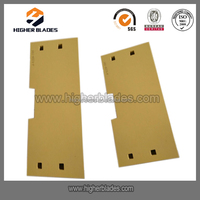 950H bucket blades loader cutting edge spare parts for Caterpillar