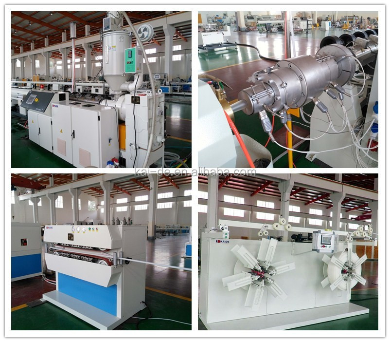 PERT Plastic Tube Extruding Machine