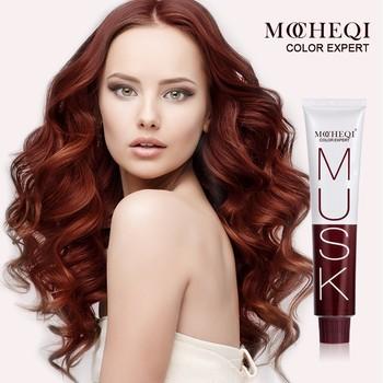 private label ammonia free natural glitter hair dye cream non