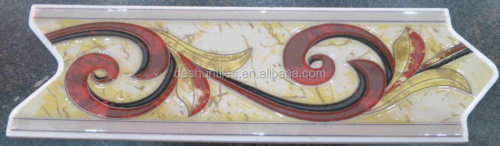 Arrow Listello Decorate glazed Tile for Kitchen and Bathroom