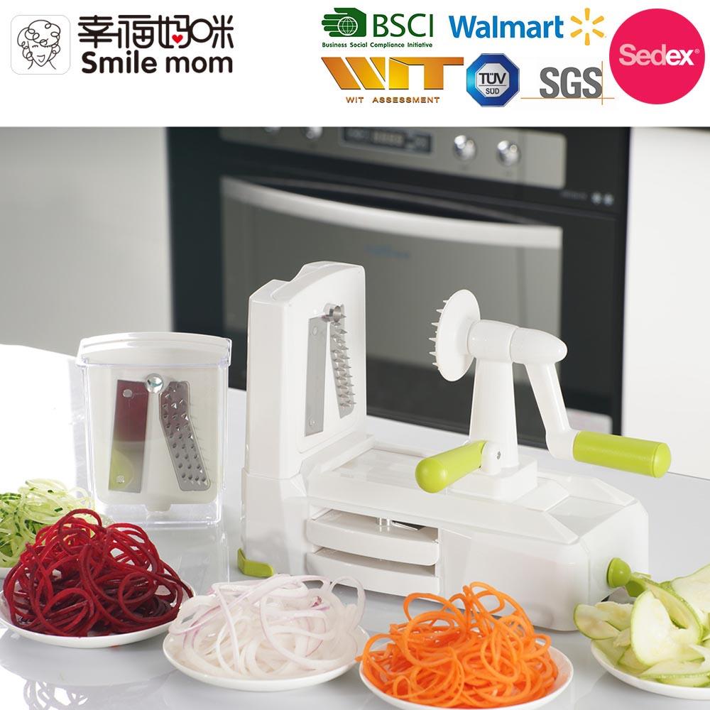 Best Selling Spiralizer Kitchen Accessories Spiral Cutter For Vegetables Handheld Spiralizer Vegetable Slicer Buy Handheld Spiralizer Vegetable