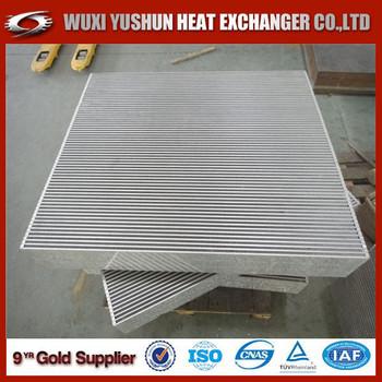 China Supplier Direct Factory Aluminum Air Radiator Cooler Core/ Air Cooler  Radiator/ Air Heat Exchanger - Buy Aluminum Air Radiator Cooler Core,China