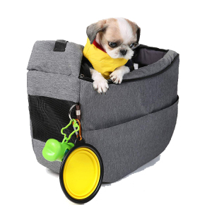 Hands Free Reversible puppy outdoor adjustable cats front travel bag purse pet dogs sling carrier with pocket