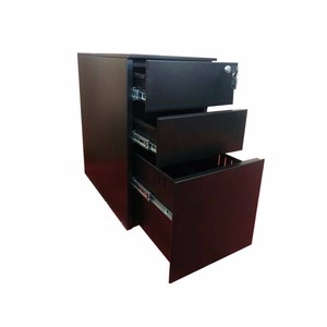 New Design Color 3 Drawer Vertical Mobile Cabinets Under Sesk CD DVD Storage Pedestal Cabinet