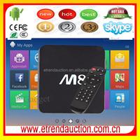 customized launcher Digital TV Converter Set Top Box Amlogic S802 Android 4.4 Set Top Box Support Google Play Apk Install