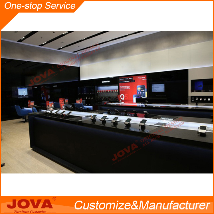 Jova manufacturer Decoration cell phone store/Mobile phone store decoration