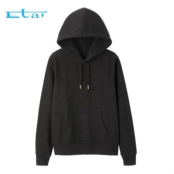 Wholesale black Blank Cropped Hoodie Crop Top women's Pullover Womens Crop Top Hoodie