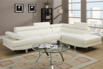Modern Design White Leather Sofa Set Hotel Lobby Room Furniture SS7002