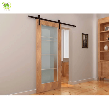 Frameless Self Closing Triple Sliding Closet Door