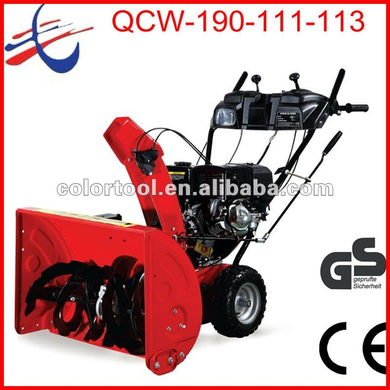 Hot!!!13hp Ce Approved Wheel Walk Qcw-a113 Snow Blower / Atv Snow Blower -  Buy Atv Snow Blower,Engine Blower,Electric Snow Blower Product on