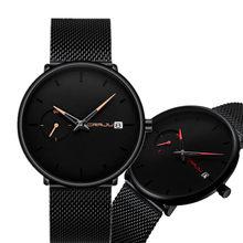 Crrju спортивные часы Топ бренд класса люкс водонепроницаемые парные часы модные повседневные часы для мужчин и женщин Авто Дата часы Crrju часы(Китай)