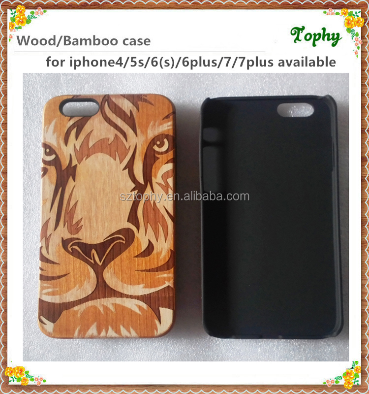 2016 New Arrive For Real Wooden bamboo I Phone 6s Case/For IPhone 6s covers maple wood/For Wood Case IPhone 6s Wholesales
