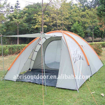 New 4 Men Family Dome Tent Mosquito Mesh C&ing Tent With Big Rain Fly & New 4 Men Family Dome Tent Mosquito Mesh Camping Tent With Big ...