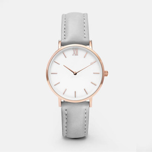 Fashion Girls Design Your Own Waterproof Leather Strap Wrist Watch Quartz Luxury Women Lady Watches