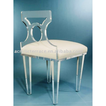 Acrylic Lucite Vanity Chair