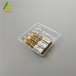 1ml*5 type disposable plastic blister ampoule tray for ampoule vial