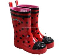 Cute Animal Adult Ladybug Rain Boots Girl Rubber Shoes,Girl Rubber ...