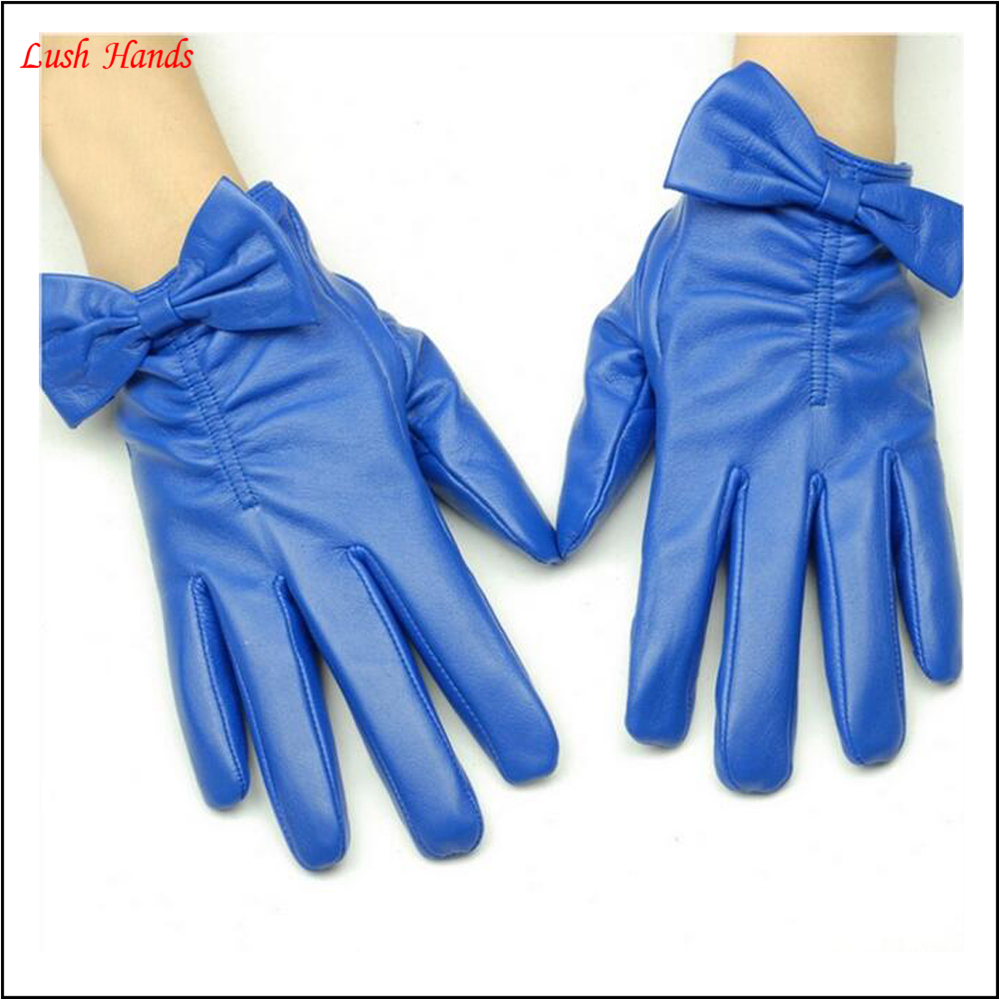 Ladies leather gloves navy - Ladies Navy Leather Gloves With Bow Cuff Details Buy Ladies Navy Leather Gloves Leather Gloves With Bow Cuff Details Ladies Leather Gloves With Bow Cuff