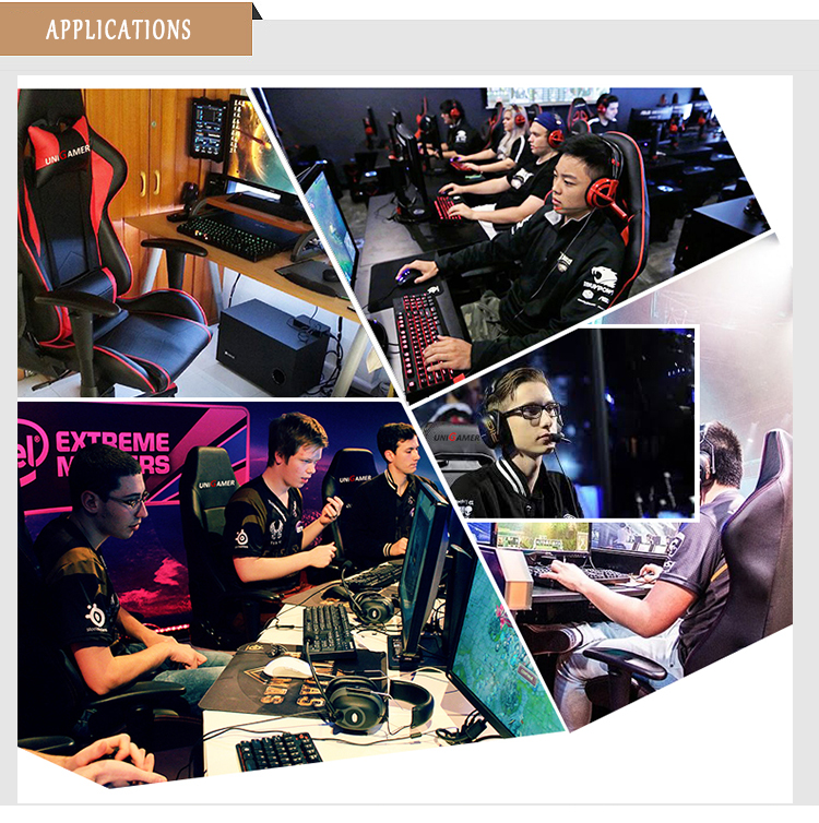 Guangzhou supply virual reality gaming setup automatic pc workstation chair 200kg gaming chair