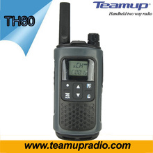 Teamup mini 1-5 km gama conversa mais barato uhf 2 watts walkie talkie