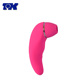 USB Rechargeable Silicone Vibrator 100% Waterproof G-Spot and Clitoris Stimulator Nipple Sucking Toy for Women