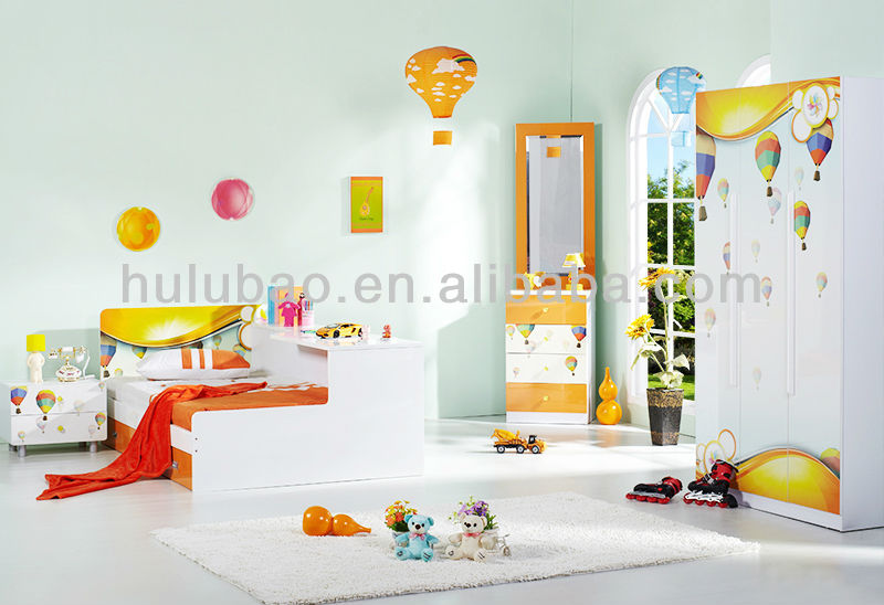 Children kids simple style modern dressing table with mirror, View kids  dressing table, Hulubao Baohulu Product Details from Guangdong Hulubao  Culture ...