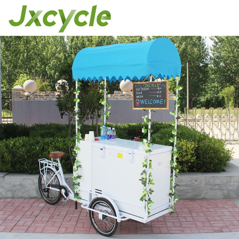 Multi-purpose Ice Cream Cargo Bike for sale trike