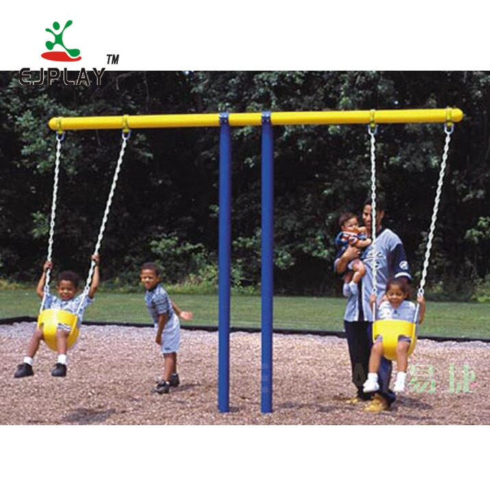Factory Supply Kids Outdoor Amusement Park Playground Swing Set