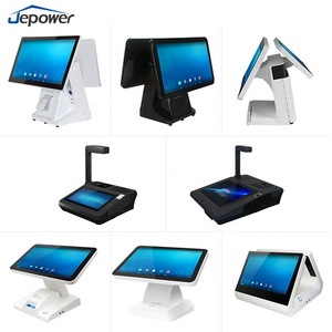 WIFI GPRS desktop Retail POS Touch Screen Till POS System with Customer Display