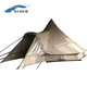 4 Season Waterproof Family Glamping Big Camping Luxury Canvas Bell Tent