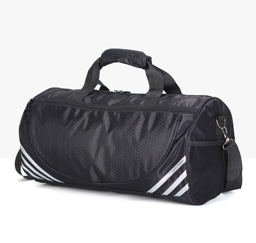 Custom Duffel Sports Mens Gym Bag With Shoe Compartment Heavy Duty