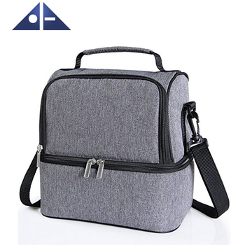 93ee90ee9757 Insulated Dual Compartment Lunch Bag For Men Women Kids - Buy Lunch Bags  For Women,Kids Lunch Bag,Insulated Lunch Bag Product on Alibaba.com