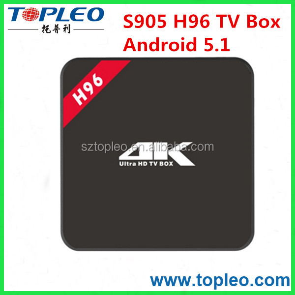 Wholesale New N96 TV Box Android with new chip Amlogic S905 Quad Core