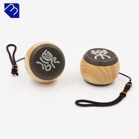 2018 Latest Wireless Portable Wooden Speaker