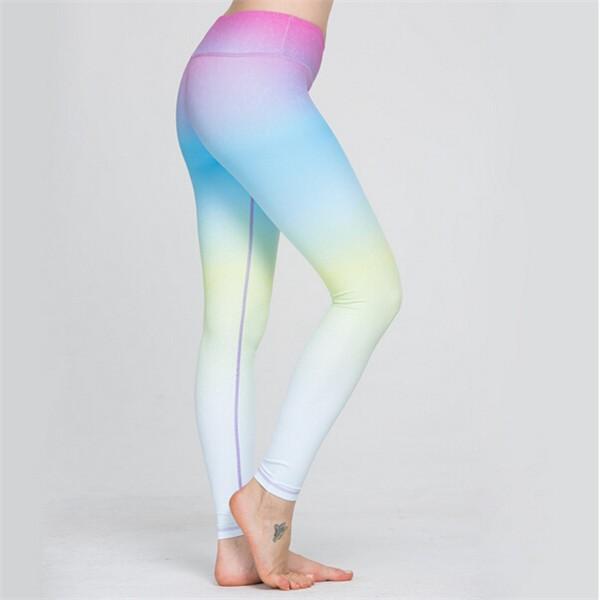 0be1443c9e Dropship fitness womens high waist jogging pants milk silk yoga pants