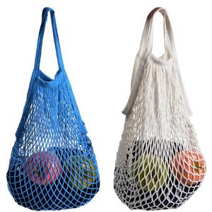 Reusable ECO Bags Fruit Shopping String Grocery Shopper Tote Mesh Woven Net Bag