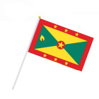 Custom size Granada hand shaking waving national flag