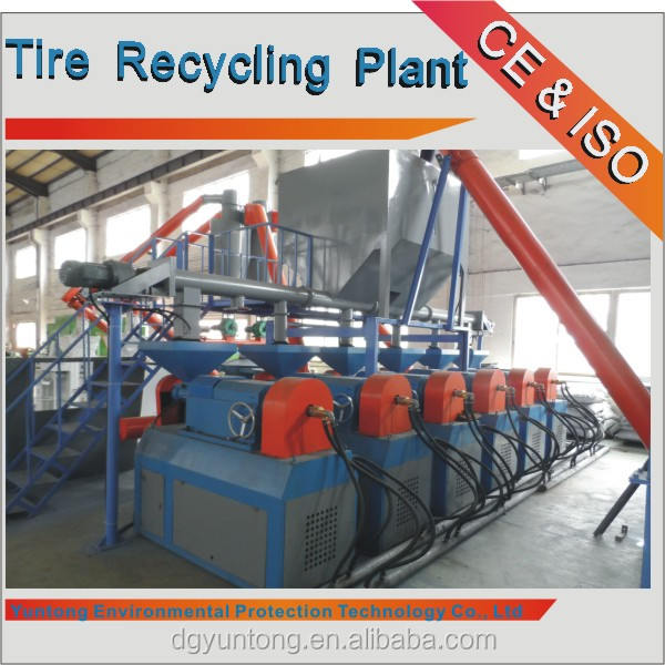 High Quality Machine for Waste Tire Recycling Production Line( Rubber grinder-YM280)