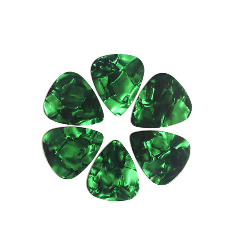 Goedkoopste Groothandel 0.71mm Leeg Parel Celluloid Medium Plectrums/Plectrum