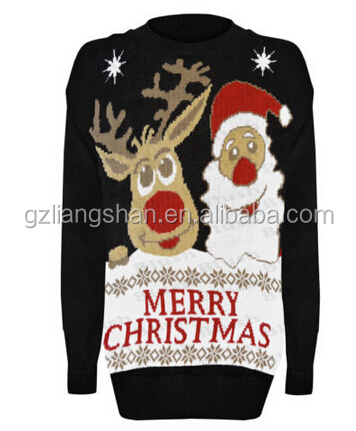 Oem Wholesaler Mens Santa Father Christmas Reindeer Novelty Retro