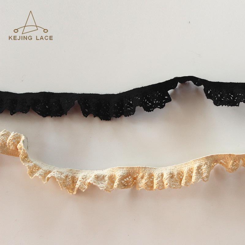 Garment Accessories Spandex Lace Trim Elastic Lace Trim