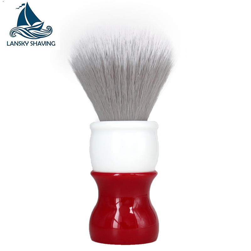 Shaving Brush High Quality Professional Mens Shaving Brush With Wooden Handle Pure Nylon For Men Face Cleaning Shaving Mask Cosmetics Tool