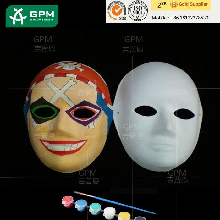 Diy Tasarimlar Beyaz Kagit Cocuklar Icin Yuz Maskesi Buy Kagit