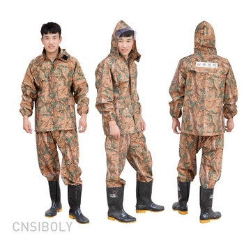 A raincoat rain jacket men one piece rain suit customized